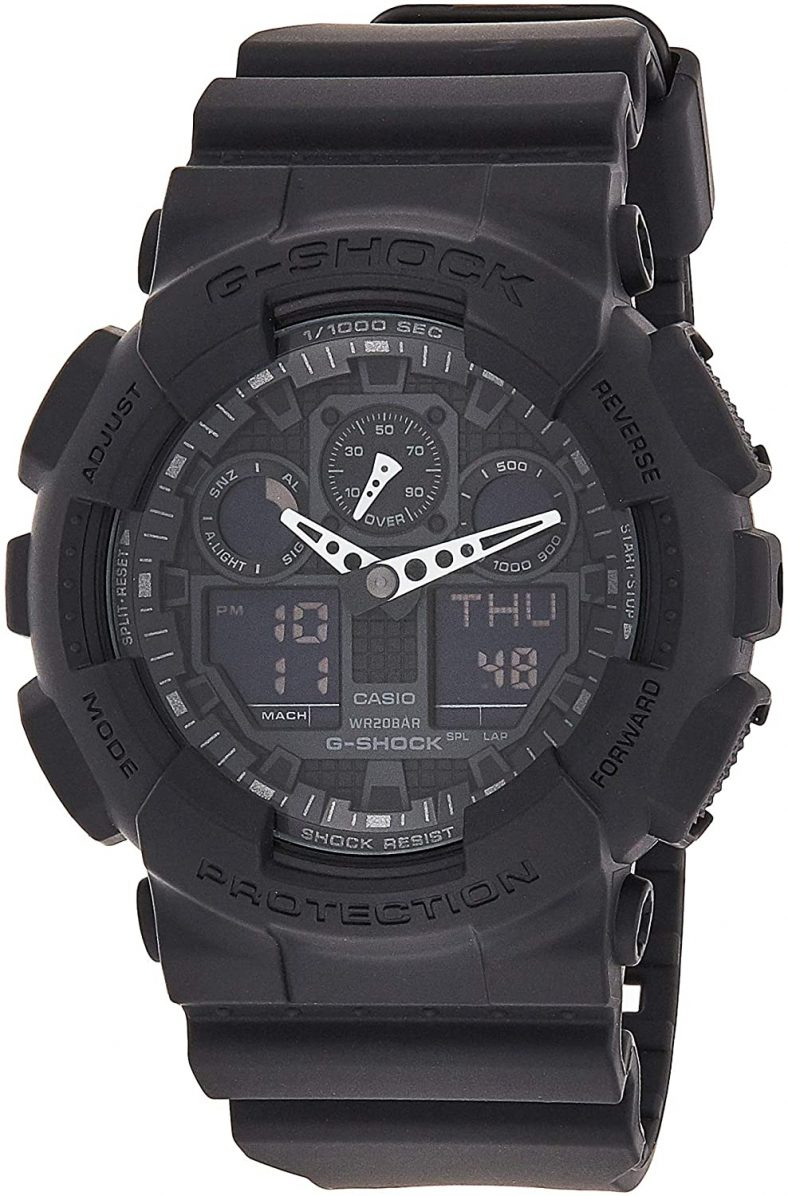 Casio Men's Watch GA100-1A1 Black