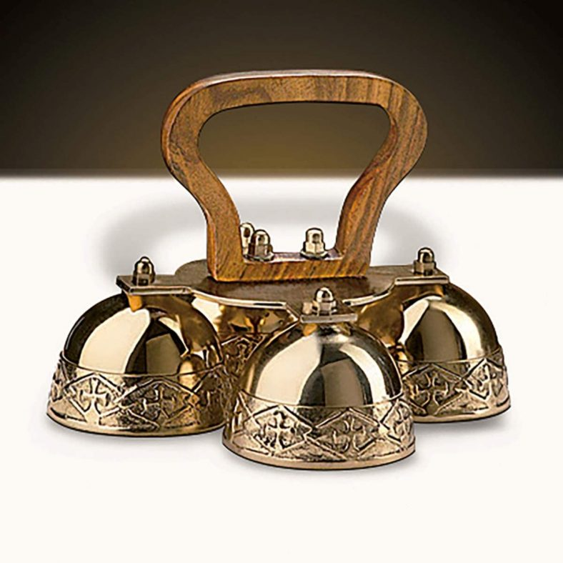 Religuous Gifts Brass 4 Bell